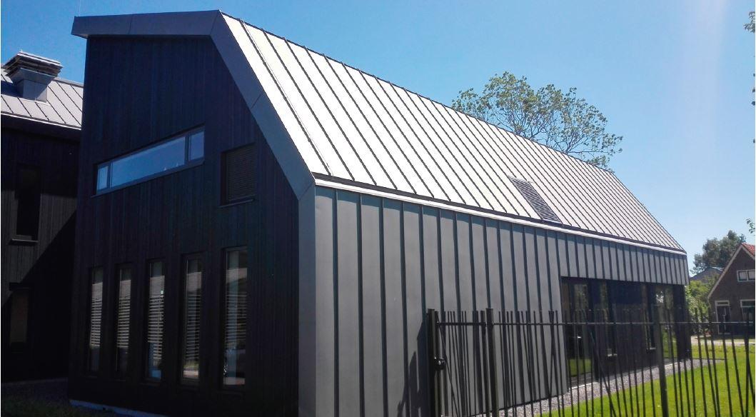 Zinc Standing Seam System A Durable Zinc Roofing Nedzink