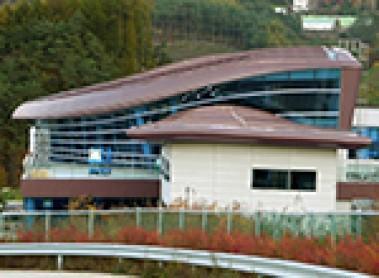 Projet sélectionné – la gare de PyeongChang